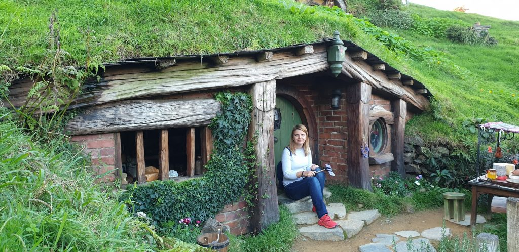Lavinia Lungu - hobbit house